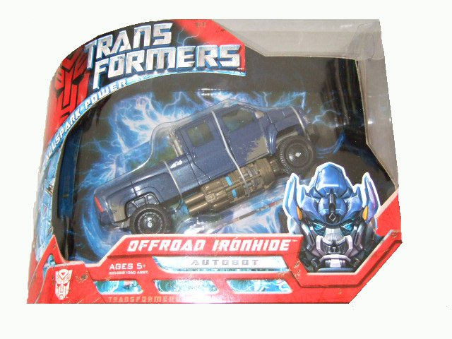 Transformers The Movie Voyager Class - Offroad Ironhide Action Figure