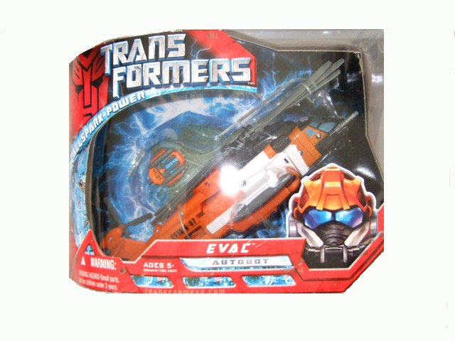 Transformers The Movie Voyager Class - EVAC Action Figure