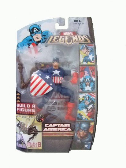Marvel Legends Series 3 Brood Queen - Classic Captain America Action Figure