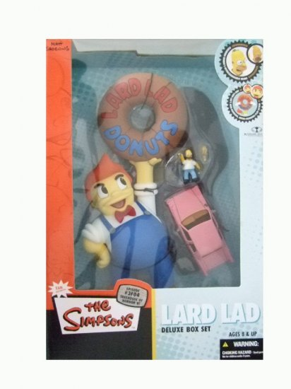 McFarlane Simpsons - Lard Lad Deluxe Boxed Set Action Figure