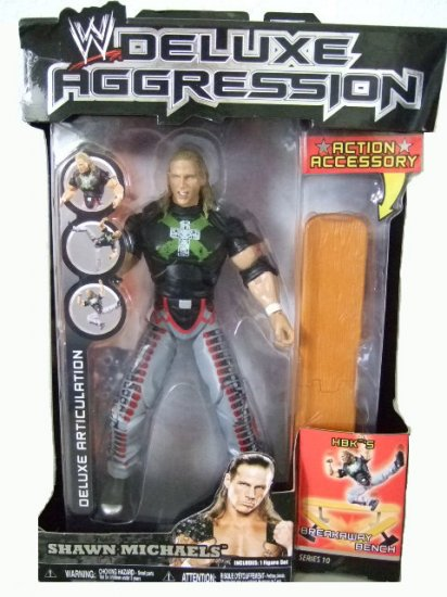 WWE Deluxe Aggression Series 10 - Shawn Michaels Action Figure