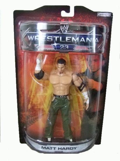 WWE Road To Wrestlemania 23 - Matt Hardy Action Figure ECW