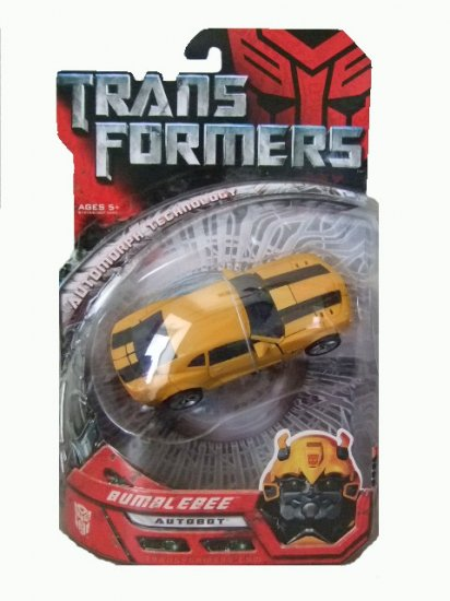 Transformers The Movie Deluxe Class - Concept Camaro Bumblebee Action Figure