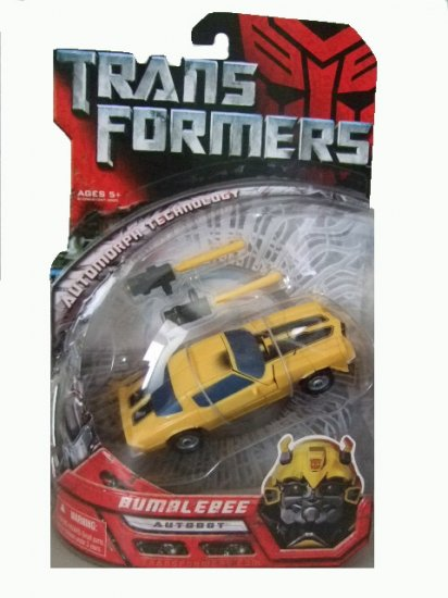 Transformers The Movie Deluxe Class - Classic Camaro Bumblebee Action Figure