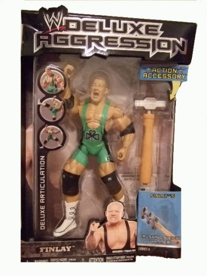WWE Deluxe Aggression Series 6 - Fit Finlay Action Figure