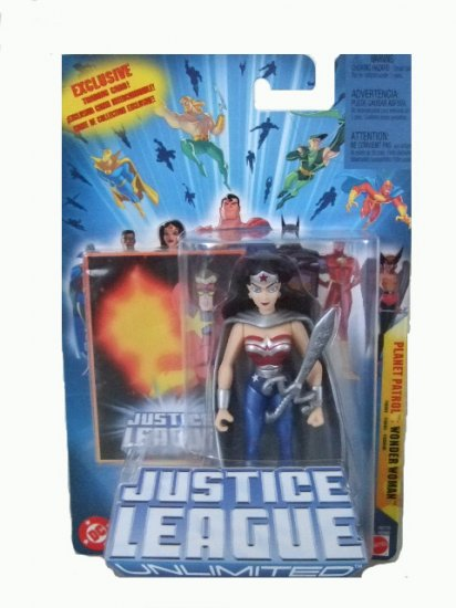 Justice League Unlimited - Planet Patrol Wonder Woman Action Figure DC Comics