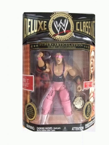 WWE Deluxe Classic Series 2 - Bret Hart Action Figure