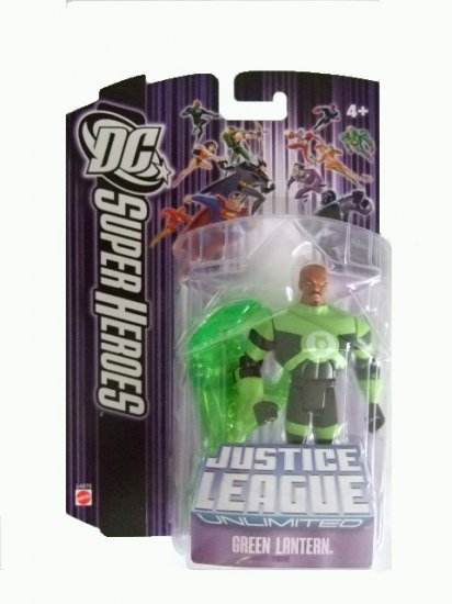 DC SuperHeroes: Justice League Unlimited - Green Lantern w/Energy Hand Action Figure