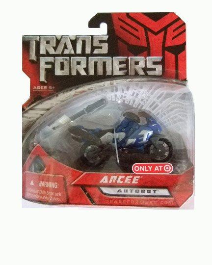 Transformers The Movie Scout Class - Arcee Action Figure