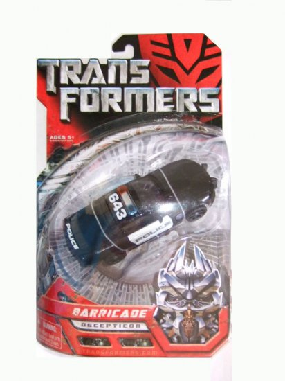 Transformers The Movie Deluxe Class - Barricade Action Figure