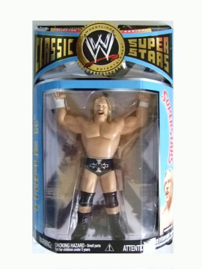 WWE Classic Superstars Series 17 - Triple H LJN Style Action Figure