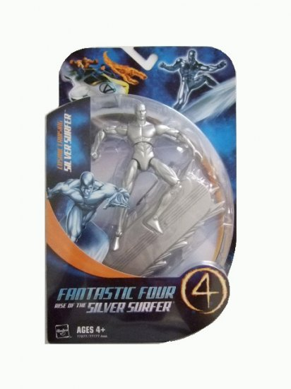 Fantastic Four Rise of the Silver Surfer - Cosmic Cruising Silver Surfer Action Figure