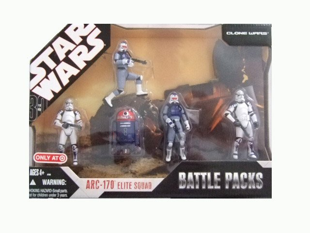 Star Wars 30th Anniversary Battle Pack - ARC-170 Action Figure Set