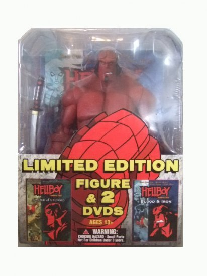 Hellboy Animated Limited Edition - Hellboy Action Figure and 2 DVDs