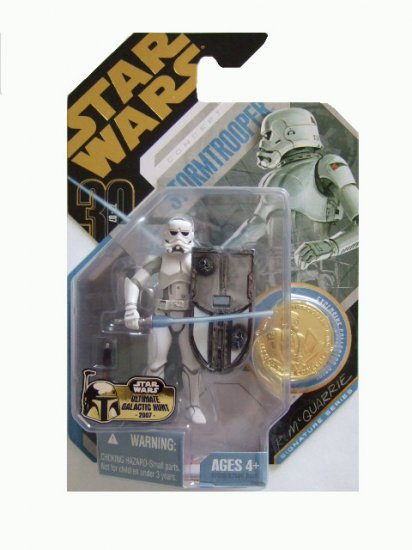 Star Wars 30th Anniversary Ultimate Galactic Hunt - McQuarrie Stormtrooper Action Figure