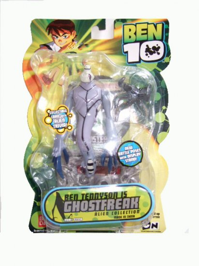 Ben 10 Alien Collection - Ghostfreak Action Figure