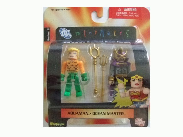 DC Mini Mates Series 2 - Aquaman and Ocean Master Action Figure 2-Pack