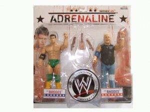 WWE Adrenaline 29 - Cody Rhodes & Dusty Rhodes Action Figure 2-Pack