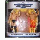 WWE Road to Wrestlemania 23 - Randy Orton & Hulk Hogan Action Figure 2-Pack