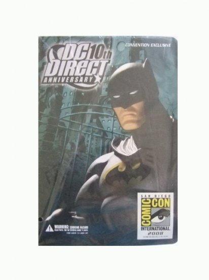 San Diego Comic Con 2008 Exclusive - DC Direct 10th Anniversary Batman Action Figure
