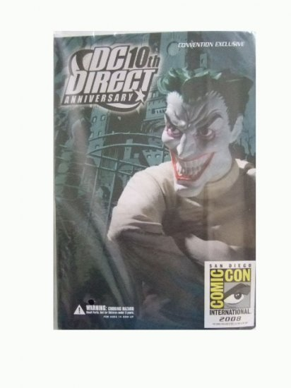 San Diego Comic Con 2008 Exclusive - DC Direct 10th Anniversary Joker Action Figure