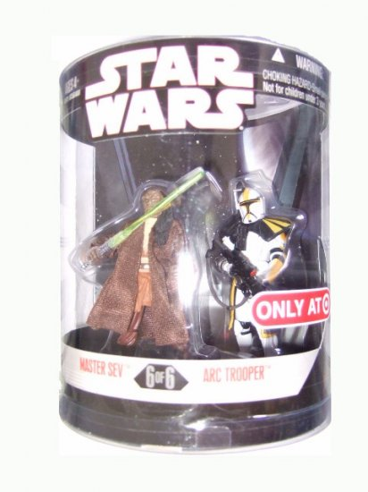 Star Wars 30th Anniversary Order 66 Series 2 - Master Sev and Arc Trooper Action Figure 2-pack