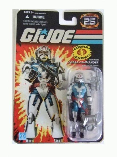 GI Joe 25th Anniversary Wave 6 - Cobra Commander in Battle Armor Action Figure