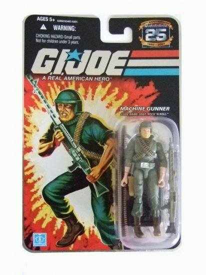 GI Joe 25th Anniversary Wave 6 - Rock n Roll Action Figure