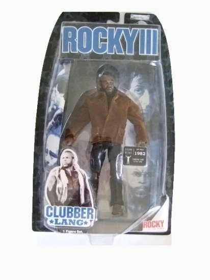 Rocky 3 - Clubber Lang in Street Gear Action Figure