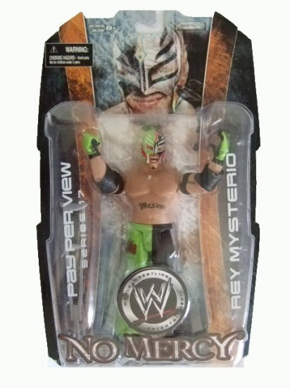 WWE Pay Per View(PPV) Series 17 - No Mercy Rey Mysterio Action Figure