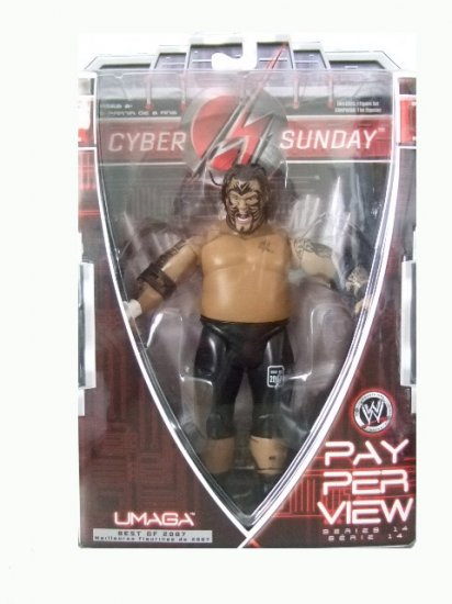 WWE Pay Per View(PPV) Series 14 - Best of 2007 Cyber Sunday Umaga Action Figure