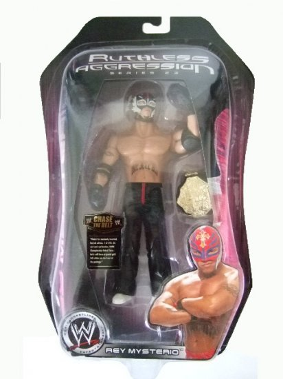 WWE Ruthless Aggression Series 23 - Rey Mysterio Action Figure Ring Rage