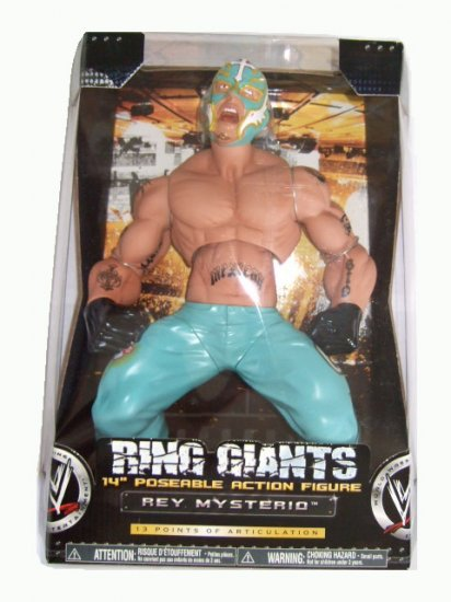 WWE Ring Giants Series 5 -  Rey Mysterio 14 inch Action Figure