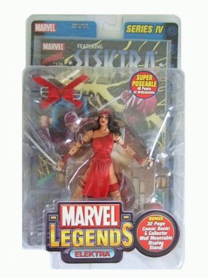 Marvel Legends Series 4 - Elektra Action Figure
