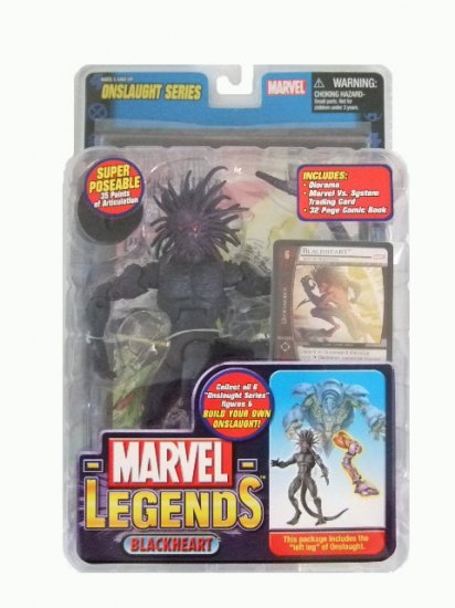 Marvel Legends Series 13(Onslaught) - Blackheart Action Figure