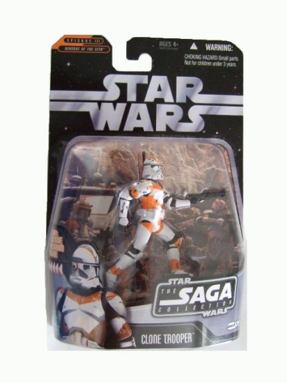 Star Wars Saga Collection Wave 3 - Utapau Clone Trooper Action Figure