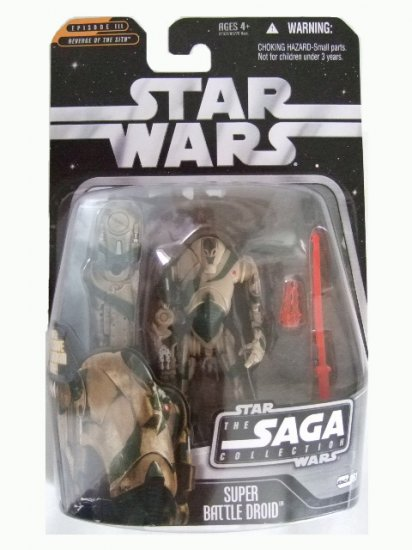 Star Wars Saga Collection Wave 8 - Super Battle Droid Action Figure