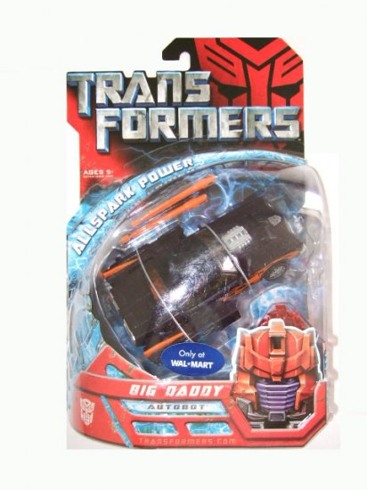 Transformers The Movie Deluxe Class -  Big Daddy Action Figure