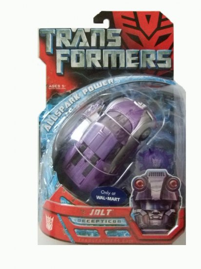 Transformers The Movie Deluxe Class -  Jolt Action Figure