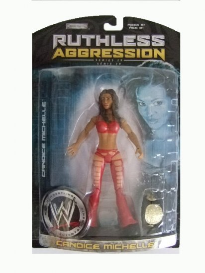WWE Ruthless Aggression Series 29 - Candice Michelle Action Figure Ring Rage