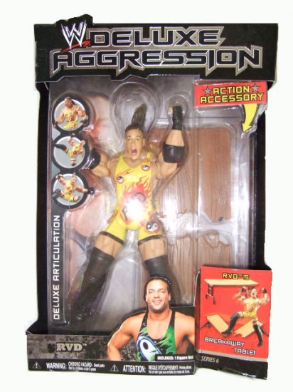 WWE Deluxe Aggression Series 6 - RVD Action Figure
