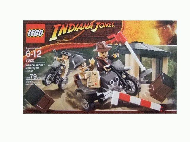 LEGO Indiana Jones Motorcycle Chase Set