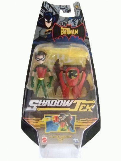 The Batman ShadowTek - Flamethrower Robin Action Figure Justice League
