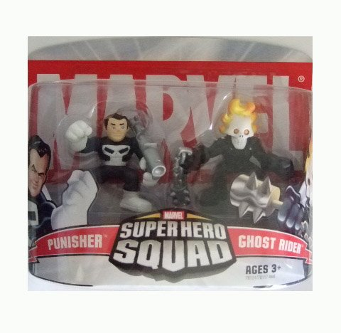 Marvel Superhero Squad - Punisher and Ghost Rider Action Figure 2-pack