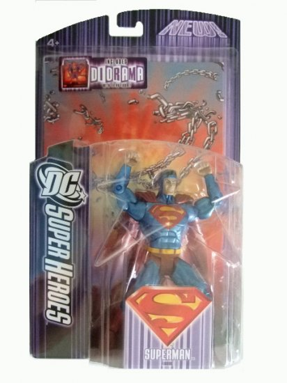 DC Super Heroes Series 5 - Kal-El Action Figure Justice League