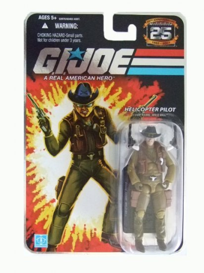 GI Joe 25th Anniversary Wave 7 - Wild Bill Action Figure