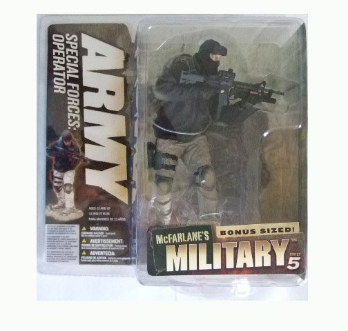 McFarlane Military Series 5 - Army Special Forces Operator (Caucasian) Action Figure