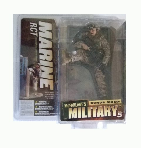 McFarlane Military Series 5 - Marine RCT (Caucasian) Action Figure