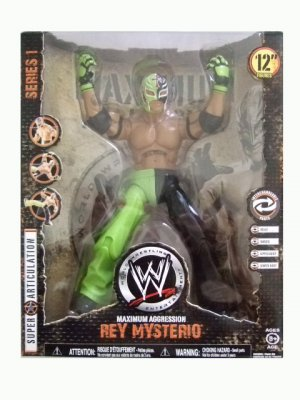 WWE Maximum Aggression Series 1 - Rey Mysterio Action Figure ECW