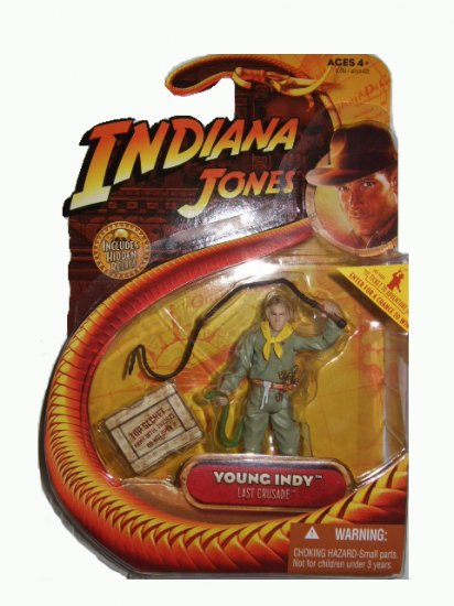 Indiana Jones Series 3 - The Last Crusade Young Indy Action Figure